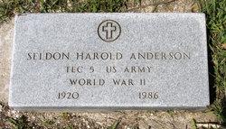 Seldon Harold Bill Anderson