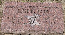 Mrs Elise Todd <i>Hardwick</i> Reed