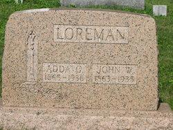 Adda Gertrude <i>Shultz</i> Loreman
