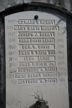 Benjamin W. Ben Davis