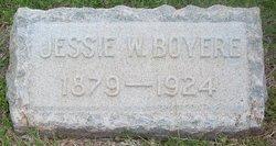 Jessie W Boyers