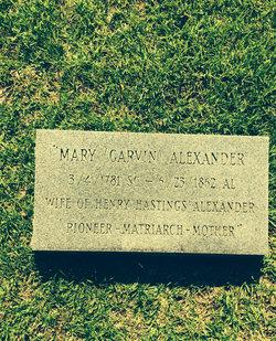 Mary <i>Garvin</i> Alexander