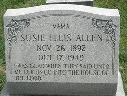 Susie Ellis <i>Johnson</i> Allen