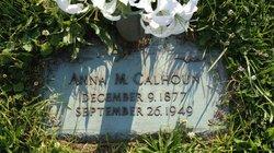 Anna M. <i>Thomas</i> Calhoun