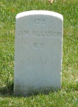 Pvt James M Allison