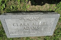 Clara <i>Alkire</i> Adams