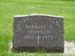 Barbara E <i>Greenagel</i> Swanson