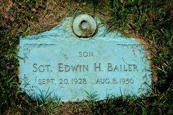 Sgt Edwin H. Bailer