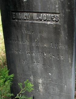 Emily N <i>Jones</i> Allen