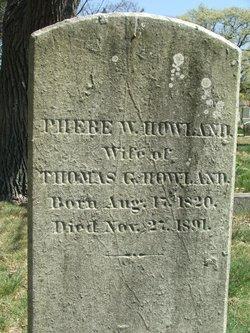 Phebe Walker <i>Russell</i> Howland