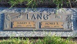 Rev Harry Ernest Lang