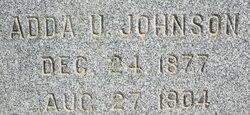 Adda U Johnson