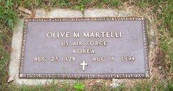 Olive Marie <i>Mann</i> Martelli