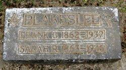 Frank Guernsey Blakeslee