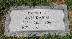 Ann <i>Johnson</i> Karim