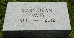 Mary Jean <i>Atkinson</i> Davis