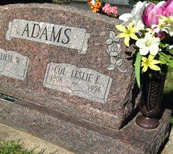 Leslie E. Adams
