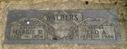 Leo A Walders