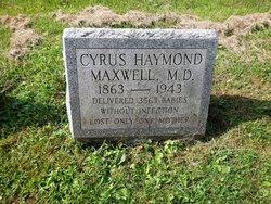 Dr Cyrus Haymond Maxwell