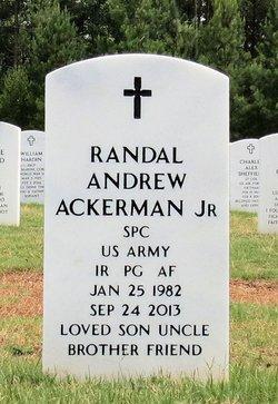 Randal Andrew Andrew Ackerman, Jr