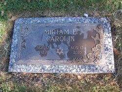 Miriam E Carolin