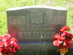 Ruby Josephine <i>Thomas</i> Burdette