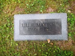 Lillie Mayford <i>Ford</i> Lowther