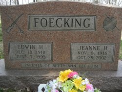 Edwin H. Ed Foecking