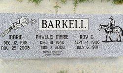 Marie <i>Thomas</i> Barkell