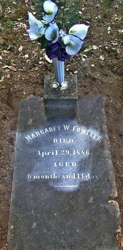 Margaret W Fowlkes