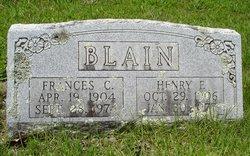 Frances Catharine <i>Hare</i> Blain
