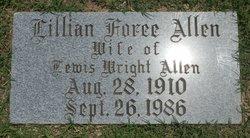 Lillian <i>Foree</i> Allen