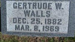 Gertrude <i>Wright</i> Walls