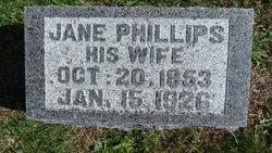 Jane <i>Phillips</i> Walls