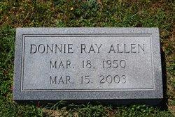Donnie Ray Allen