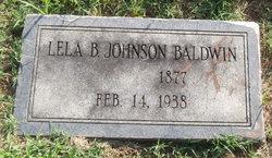Lela B <i>Johnson</i> Baldwin
