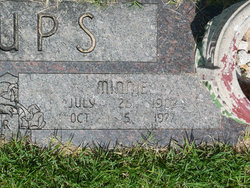 Minnie <i>Morgan</i> Billups