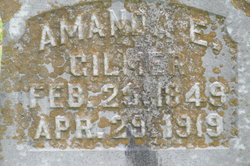 Amanda E <i>Stockard</i> Gilmer