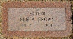 Berta Brown