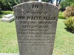 Ann Marie <i>Harper</i> Allee