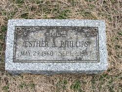 Esther Ann <i>Tinkler</i> Phillips