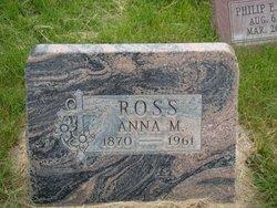 Anna M Ross