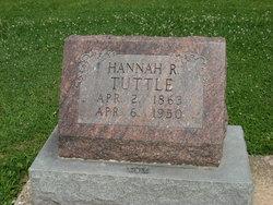 Hannah Rachel <i>Parker</i> Tuttle
