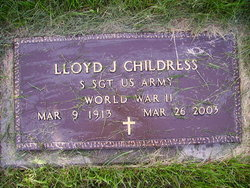 Lloyd Joseph Childress