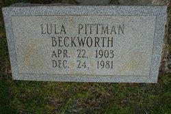 Lula <i>Pittman</i> Beckworth