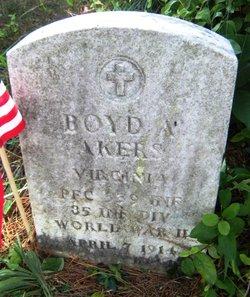 Boyd A. Akers