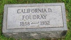 California D. <i>Dillon</i> Foudray