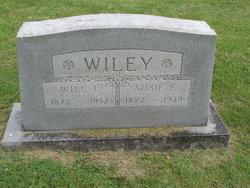 Susie E. <i>Gibson</i> Wiley