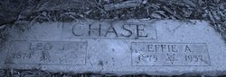 Effie A <i>Brown</i> Chase