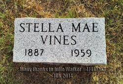 Estella Mae Stella <i>Wells</i> Vines